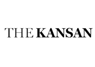 Logo for The Kansan, which featured Dallas IVF | Frisco and 4 Texas locations