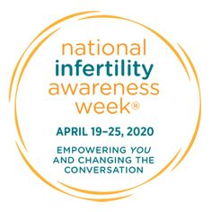 Logo for national infertility awareness week 2020 | Dallas IVF | Frisco, TX